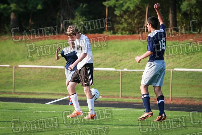 Men's JV Soccer vs Forbush-8-21-14-58