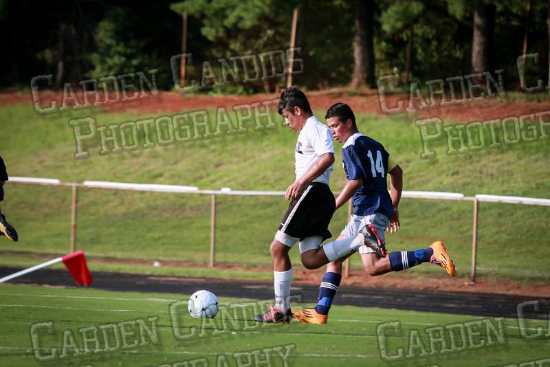 Men's JV Soccer vs Forbush-8-21-14-16