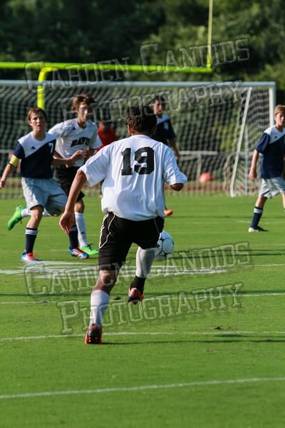 Men's JV Soccer vs Forbush-8-21-14-7