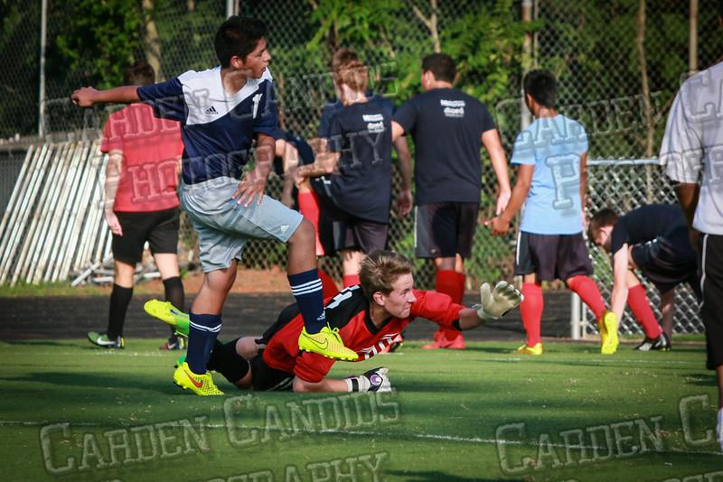 Men's JV Soccer vs Forbush-8-21-14-51