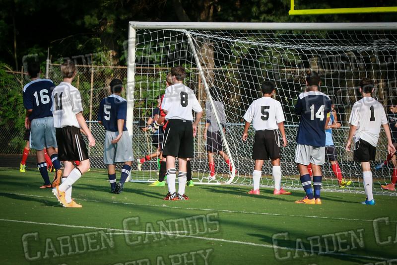 Men's JV Soccer vs Forbush-8-21-14-53
