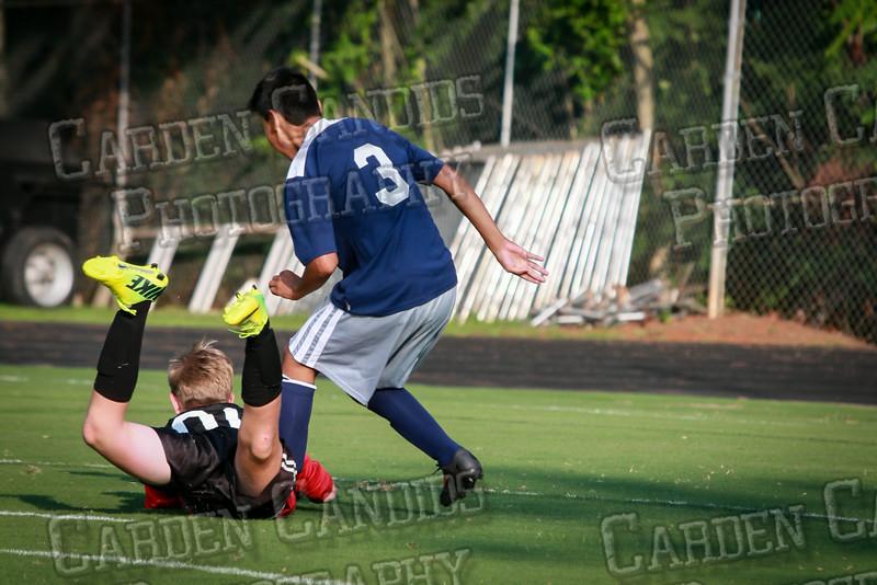 Men's JV Soccer vs Forbush-8-21-14-25