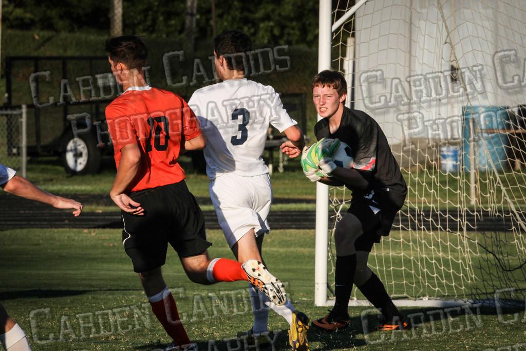 Men's Varsity Soccer vs E Forsyth 8-27-14-016