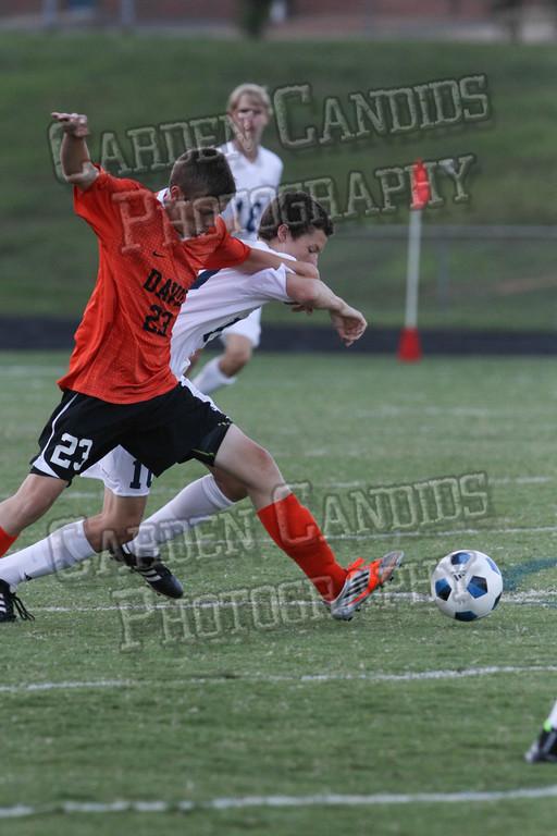 Men's Varsity Soccer vs E Forsyth 8-27-14-033