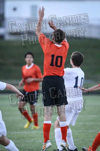 Men's Varsity Soccer vs E Forsyth 8-27-14-024