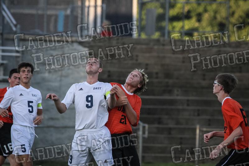 Men's Varsity Soccer vs E Forsyth 8-27-14-046