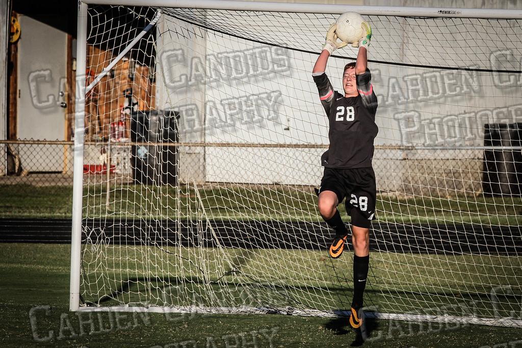 Men's Varsity Soccer vs E Forsyth 8-27-14-004