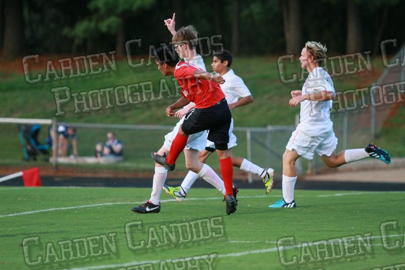 Men's Varsity Soccer vs Forbush-8-21-14-9