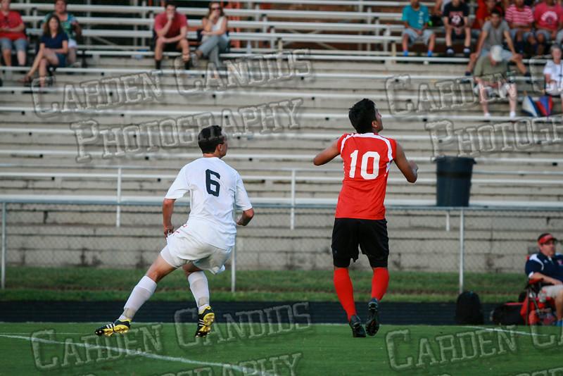 Men's Varsity Soccer vs Forbush-8-21-14-20
