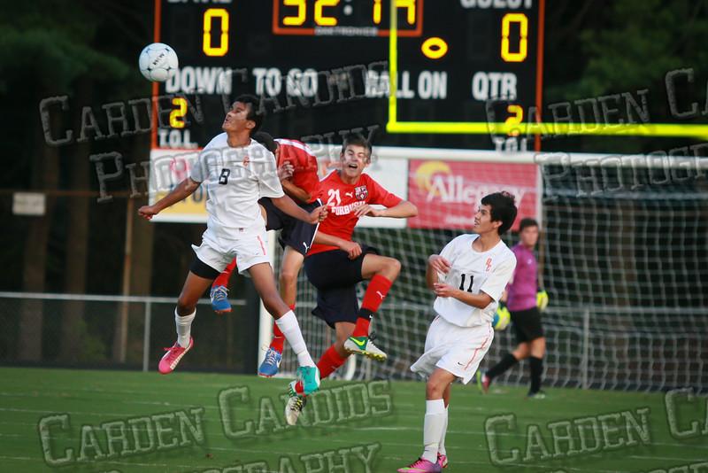 Men's Varsity Soccer vs Forbush-8-21-14-15