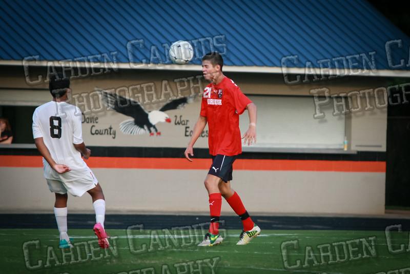 Men's Varsity Soccer vs Forbush-8-21-14-44
