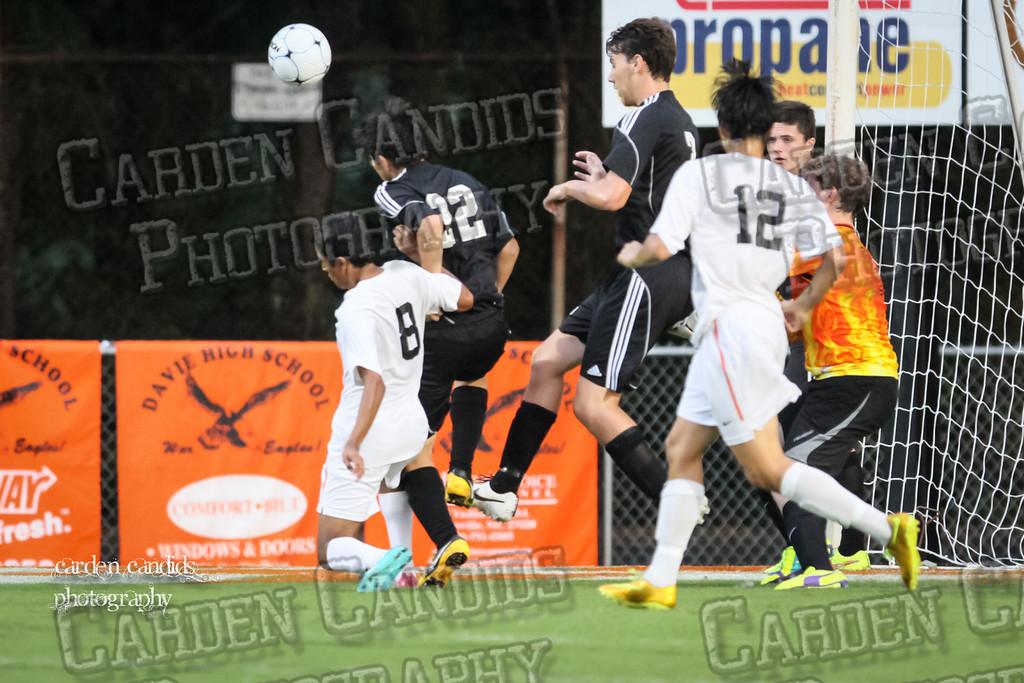 Men's Varsity Soccer vs N Davidson 9-11-14-038
