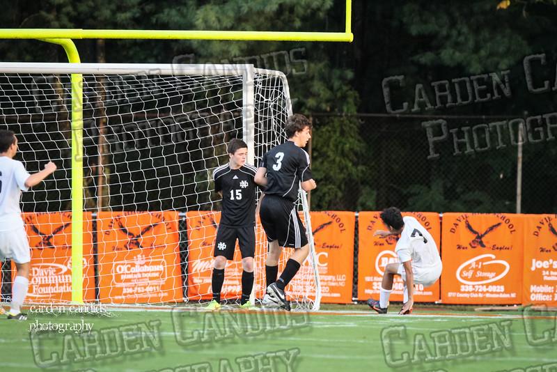 Men's Varsity Soccer vs N Davidson 9-11-14-005