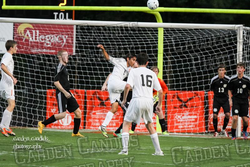 Men's Varsity Soccer vs N Davidson 9-11-14-041