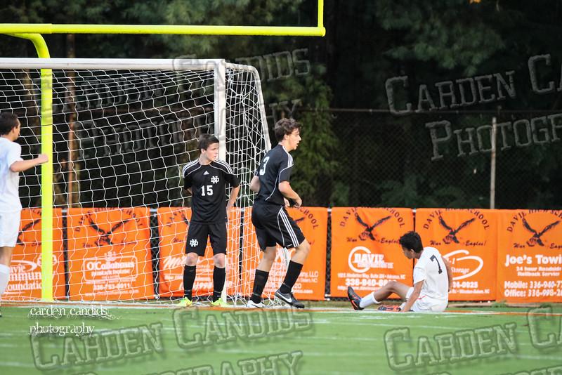 Men's Varsity Soccer vs N Davidson 9-11-14-006