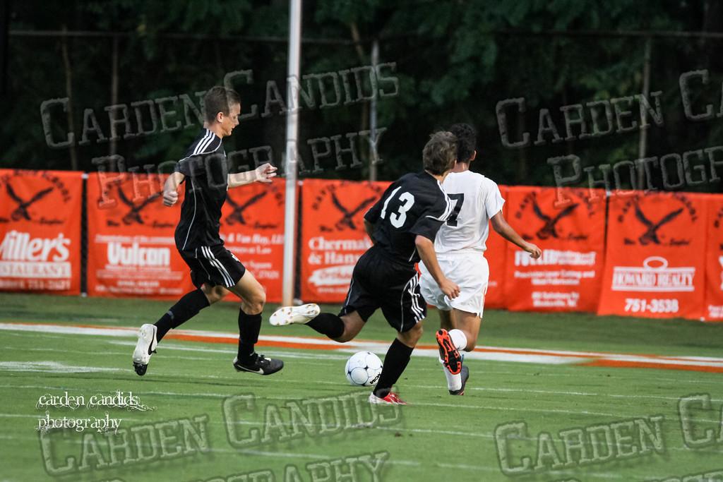 Men's Varsity Soccer vs N Davidson 9-11-14-051