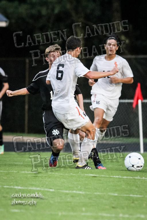 Men's Varsity Soccer vs N Davidson 9-11-14-049