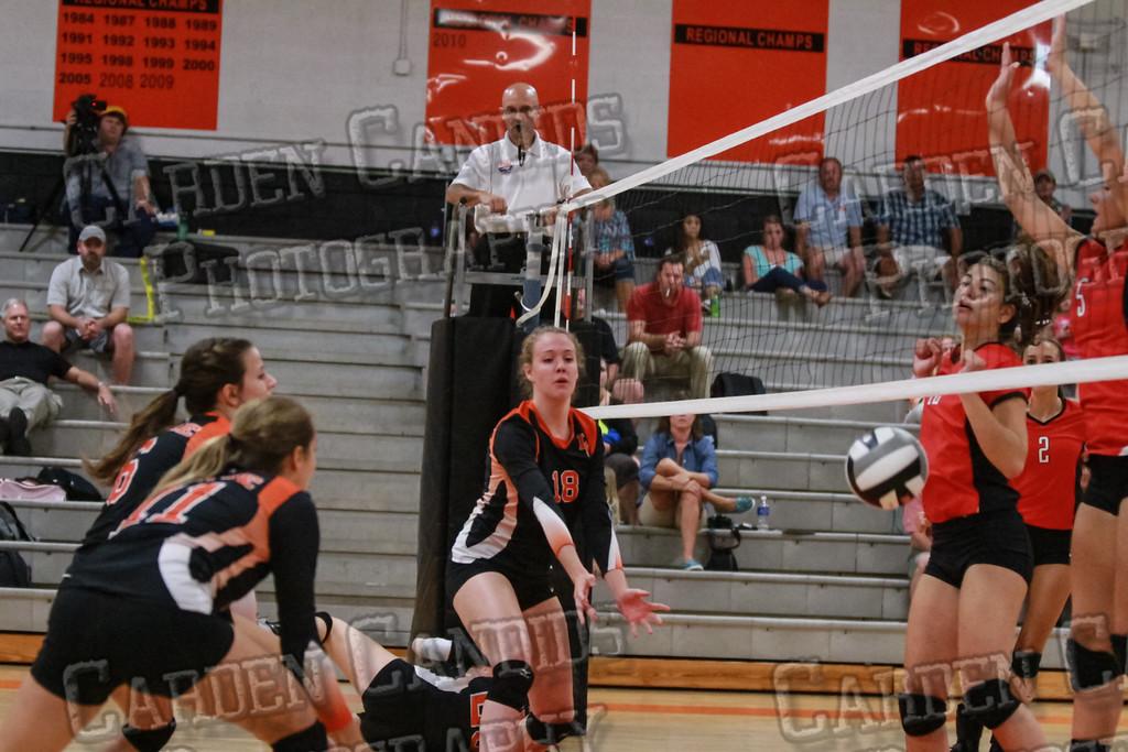 Varsity Volleyball vs North Iredell-9-8-14-053