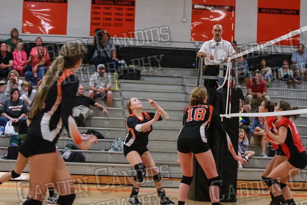 Varsity Volleyball vs North Iredell-9-8-14-043