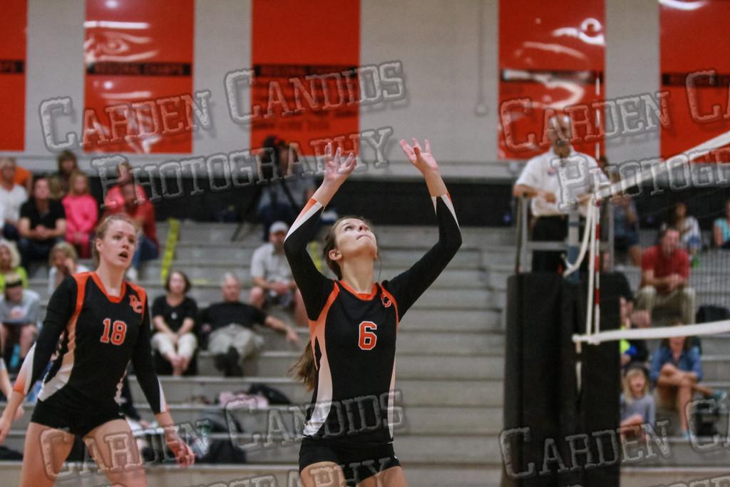 Varsity Volleyball vs North Iredell-9-8-14-037