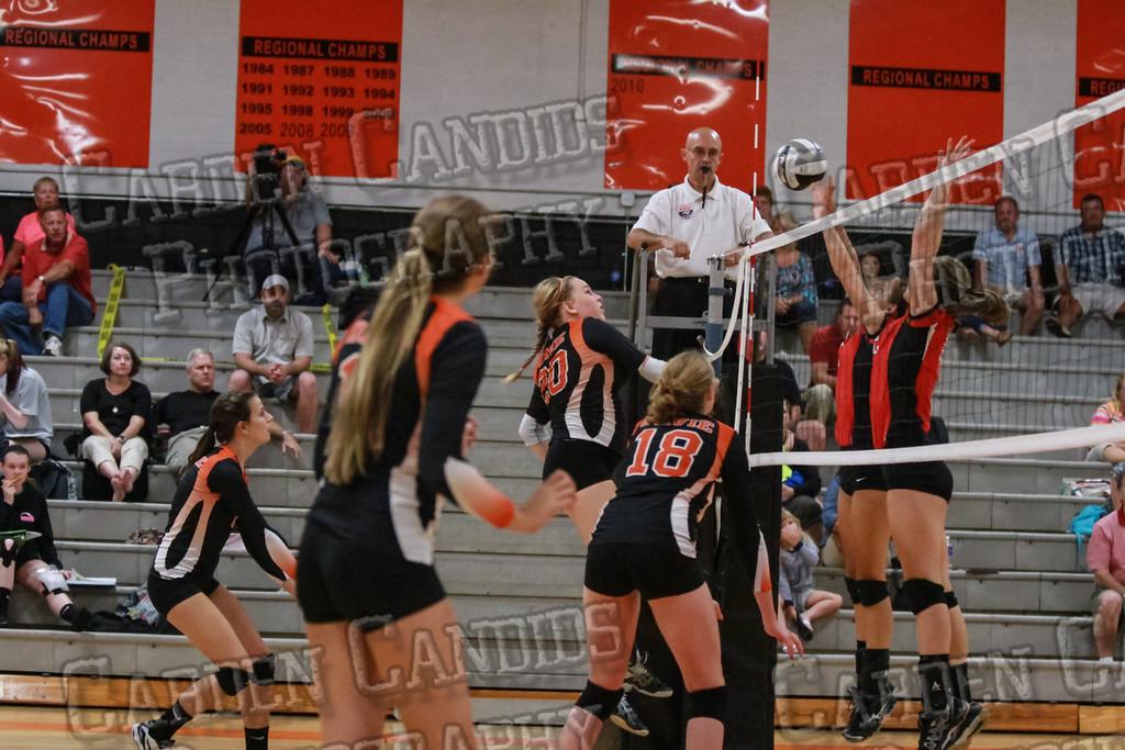 Varsity Volleyball vs North Iredell-9-8-14-046