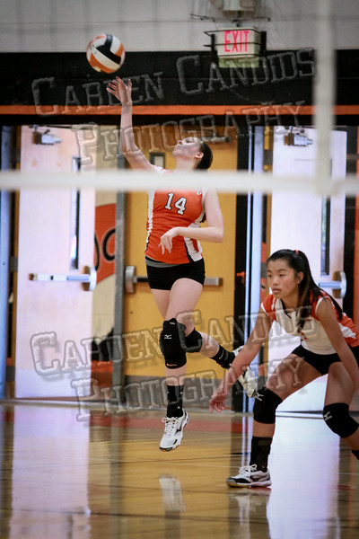 JV Volleyball Davie vs NW Guilford-45