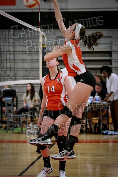 JV Volleyball Davie vs NW Guilford-8