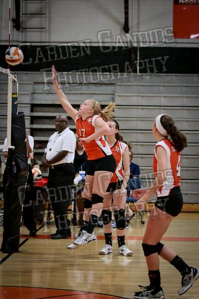 JV Volleyball Davie vs NW Guilford-5