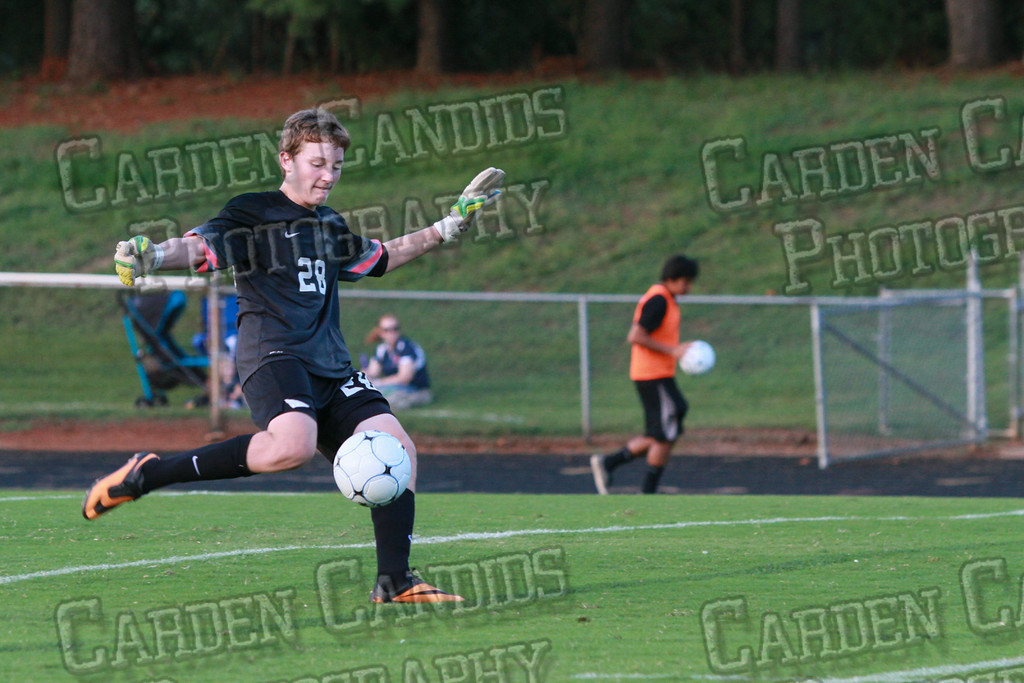 Men's Varsity Soccer vs Forbush-8-21-14-38