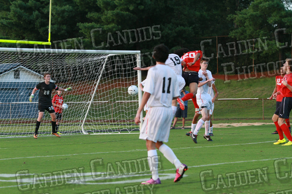 Men's Varsity Soccer vs Forbush-8-21-14-33