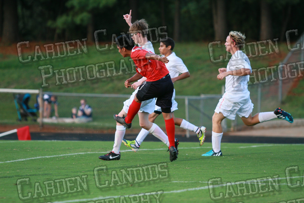 Men's Varsity Soccer vs Forbush-8-21-14-9