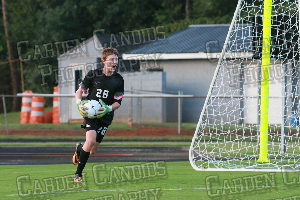 Men's Varsity Soccer vs Forbush-8-21-14-36