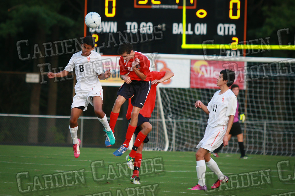 Men's Varsity Soccer vs Forbush-8-21-14-14