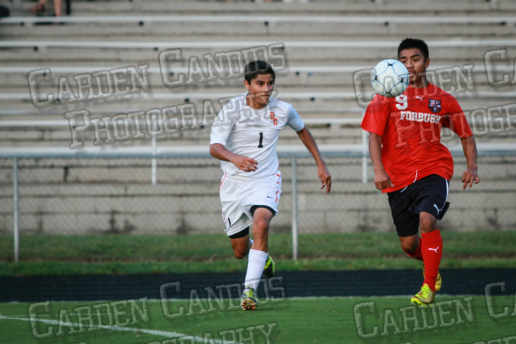 Men's Varsity Soccer vs Forbush-8-21-14-26