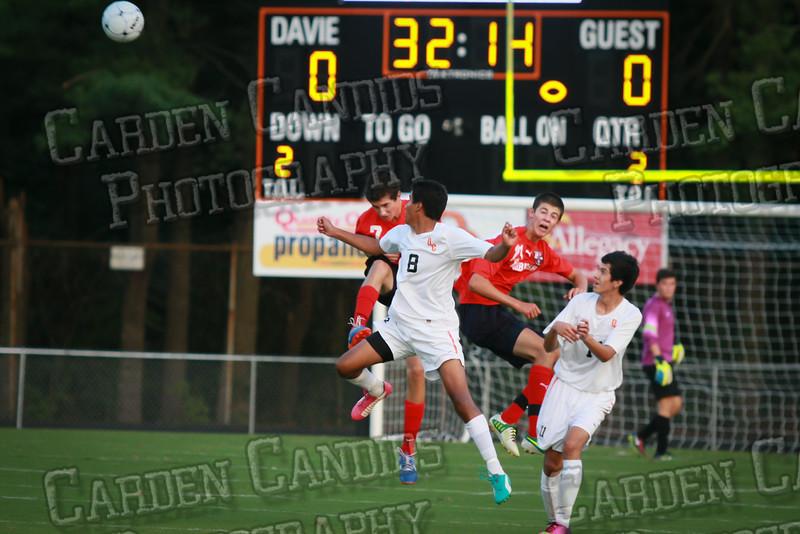 Men's Varsity Soccer vs Forbush-8-21-14-16