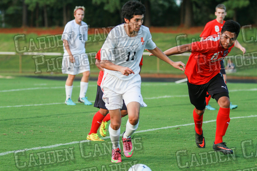 Men's Varsity Soccer vs Forbush-8-21-14-5