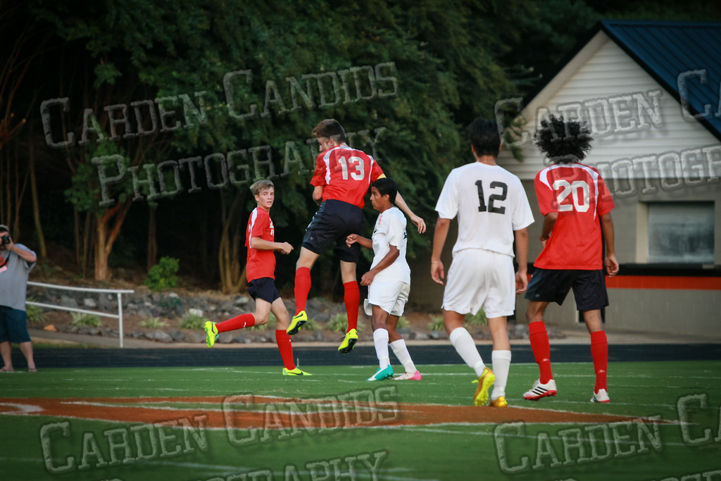 Men's Varsity Soccer vs Forbush-8-21-14-41