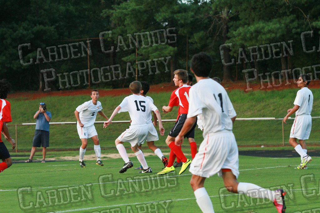 Men's Varsity Soccer vs Forbush-8-21-14-32