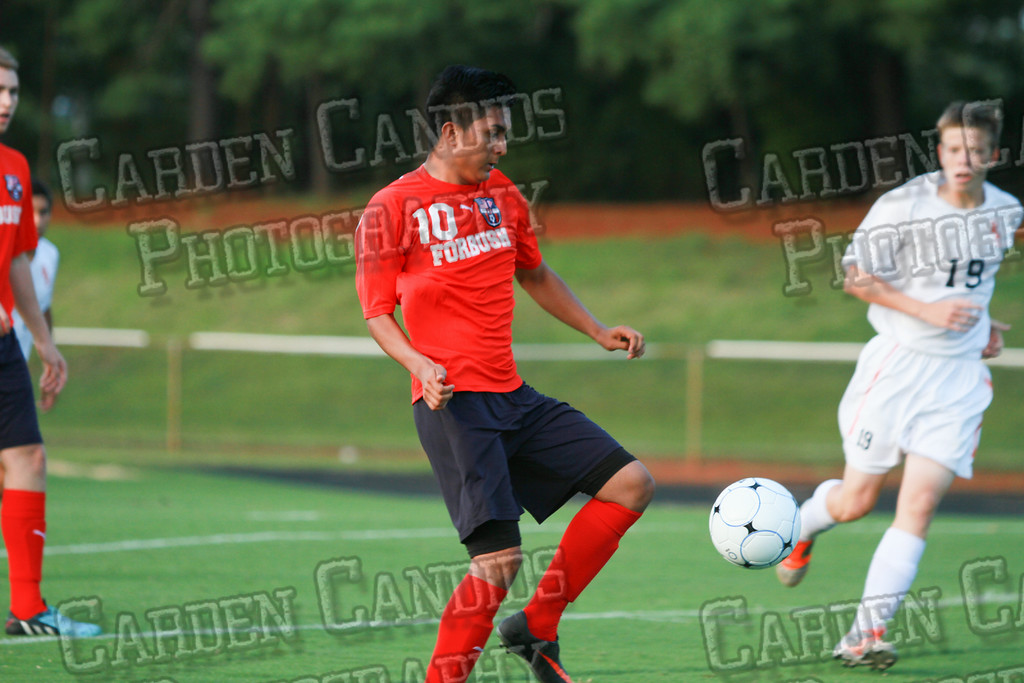 Men's Varsity Soccer vs Forbush-8-21-14-1