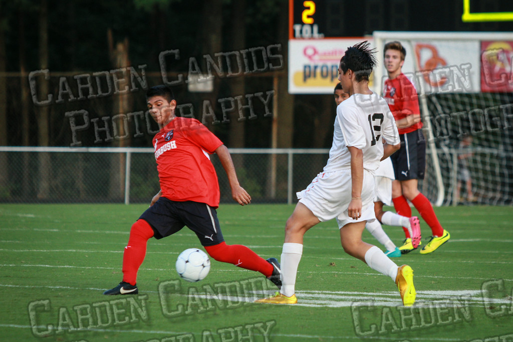 Men's Varsity Soccer vs Forbush-8-21-14-17