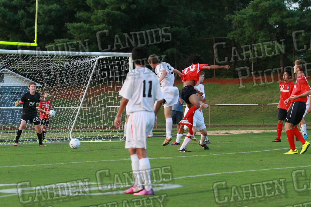 Men's Varsity Soccer vs Forbush-8-21-14-34