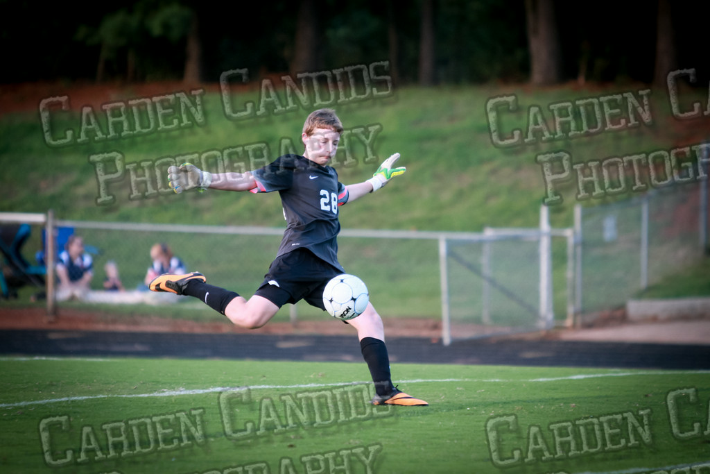 Men's Varsity Soccer vs Forbush-8-21-14-42