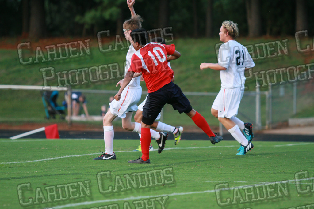 Men's Varsity Soccer vs Forbush-8-21-14-10