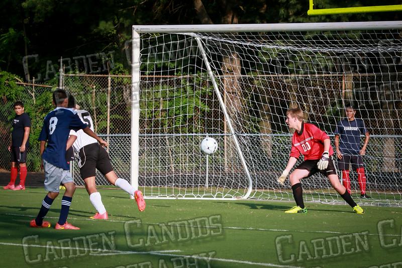Men's JV Soccer vs Forbush-8-21-14-18