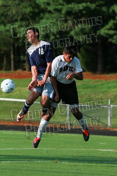 Men's JV Soccer vs Forbush-8-21-14-4