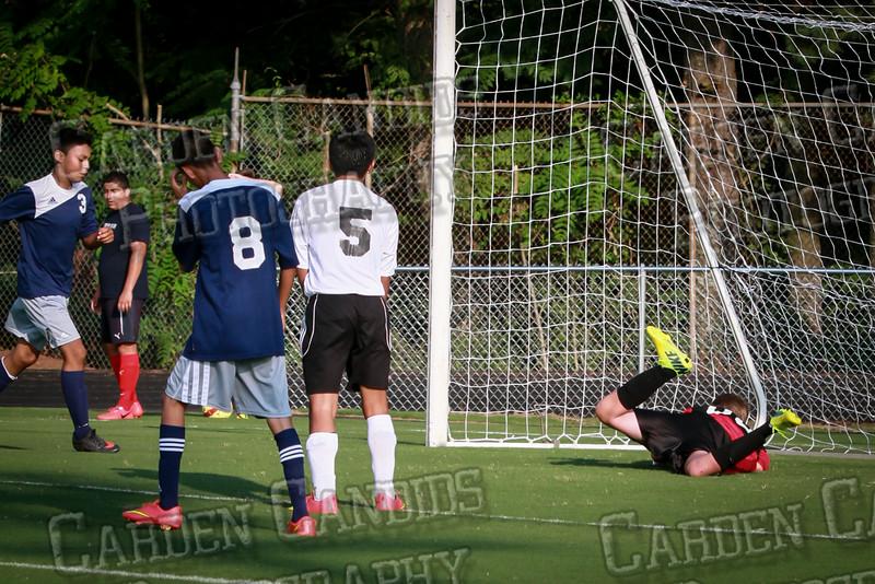 Men's JV Soccer vs Forbush-8-21-14-22