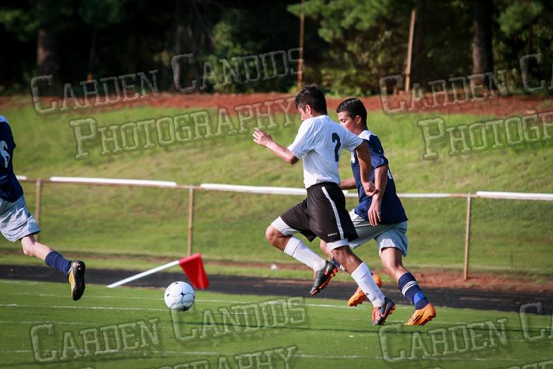 Men's JV Soccer vs Forbush-8-21-14-17