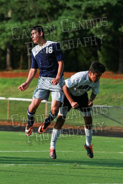 Men's JV Soccer vs Forbush-8-21-14-5