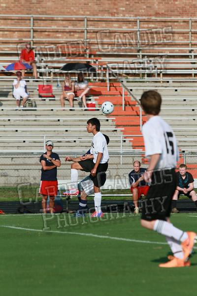 Men's JV Soccer vs Forbush-8-21-14-1