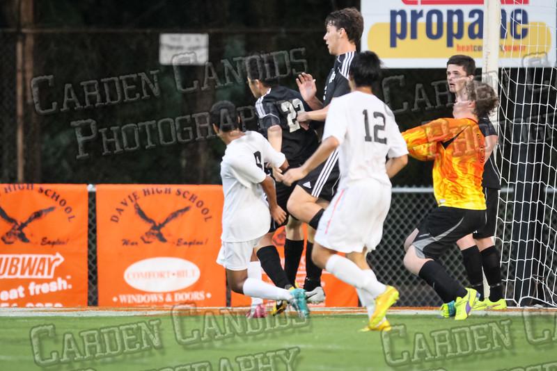 Men's Varsity Soccer vs N Davidson 9-11-14-039